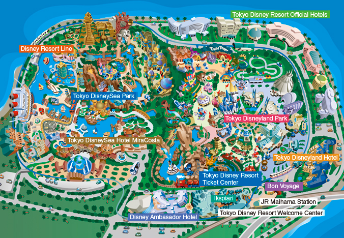 tokyo disneyland and the disneysea park In addition to the ongoing tokyo disneyland  tokyo disneysea is the only disney theme park inspired by the myths and legends of the sea and is known to.