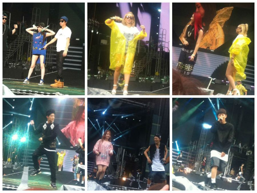 YG Family Sound Check Party