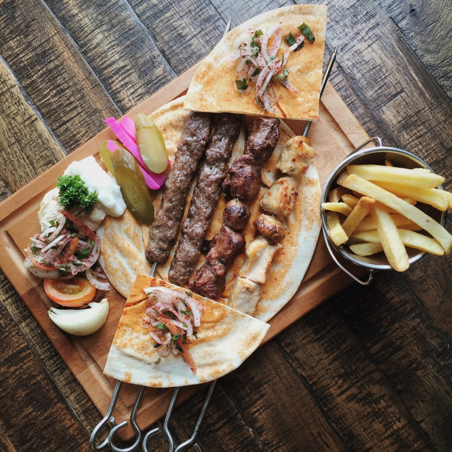 Mixed grill by Byblos