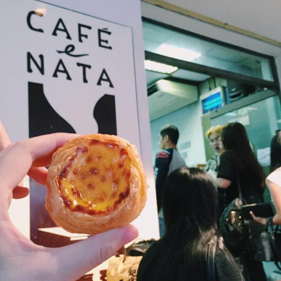 cafe e nata portugese egg tart