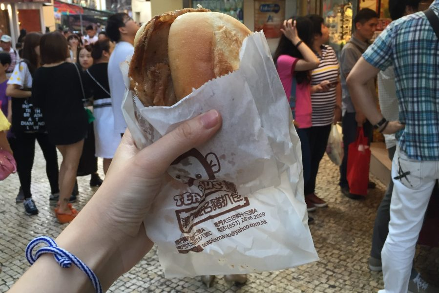 Macau pork bun