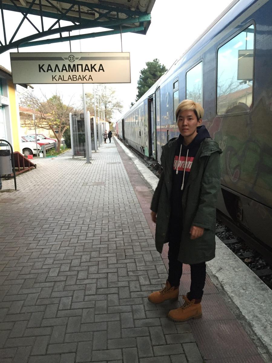 kalambaka train station