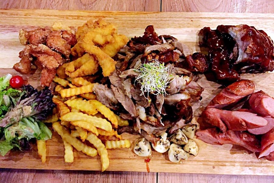 family pork platter brazzo