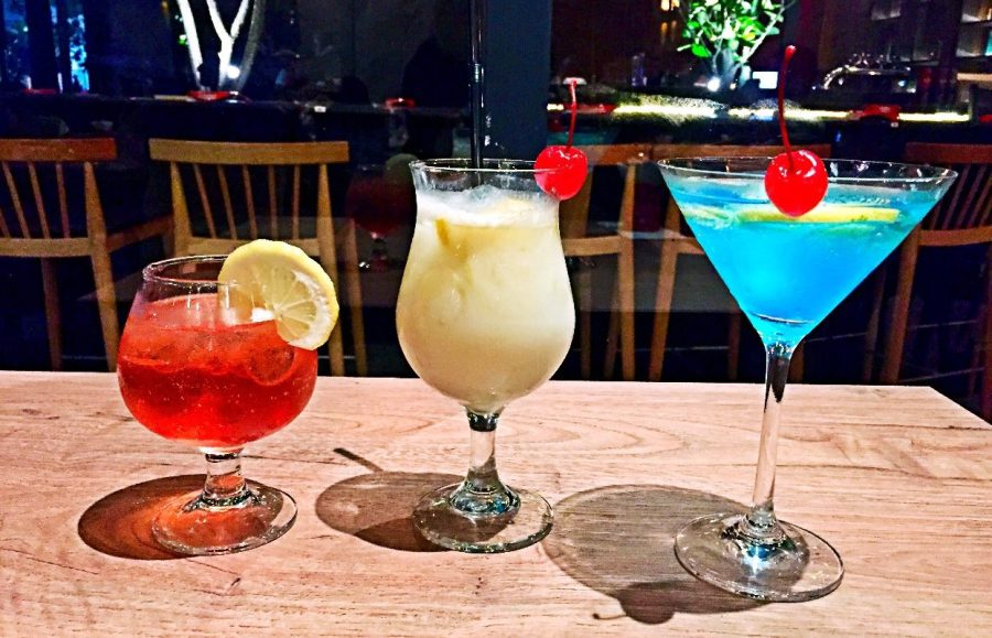 brazzo cocktail blue martini