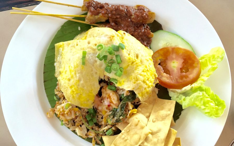 nasi goreng kampung arabian coffee house