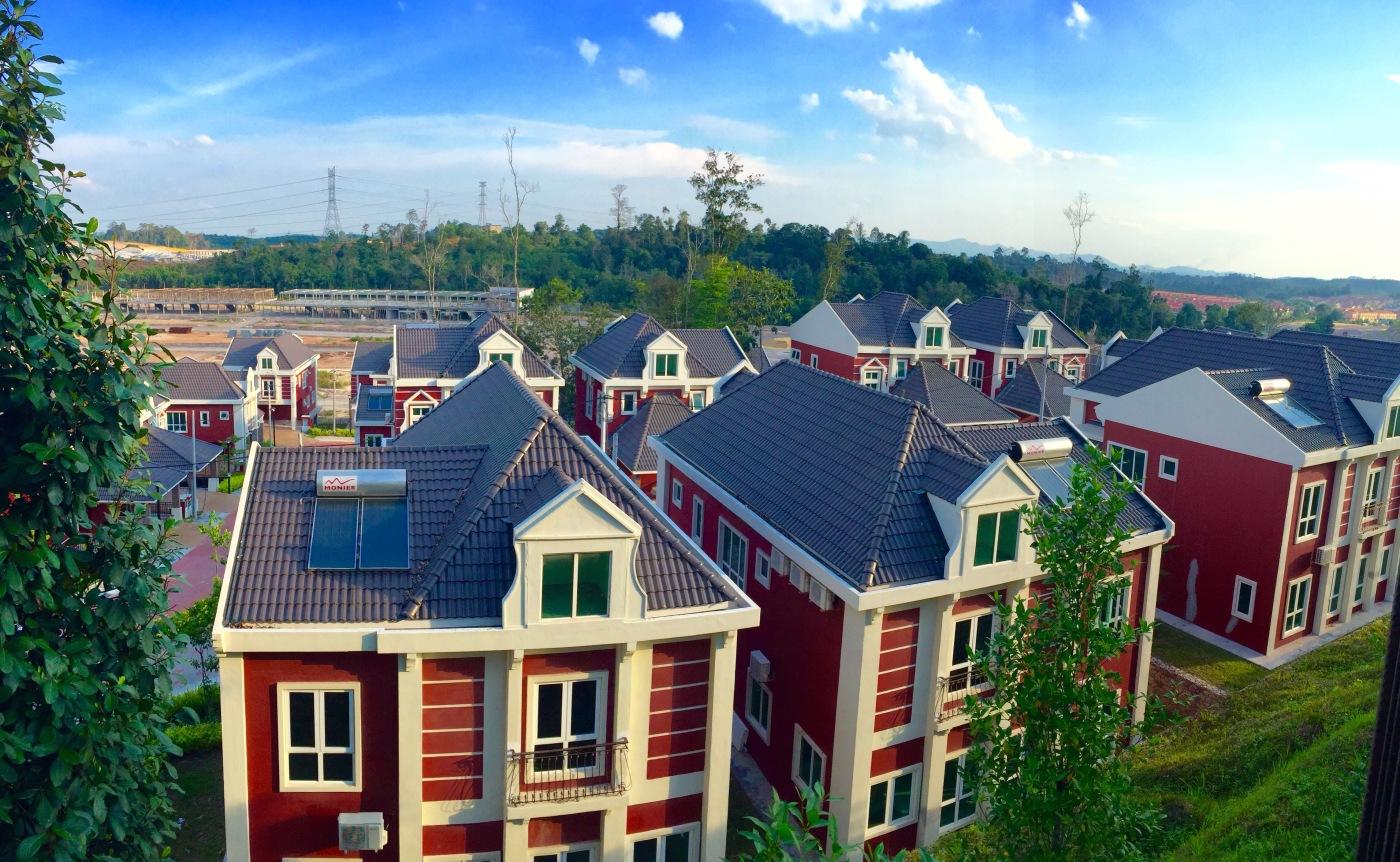global heritage village amsterdam bukit gambang resort city