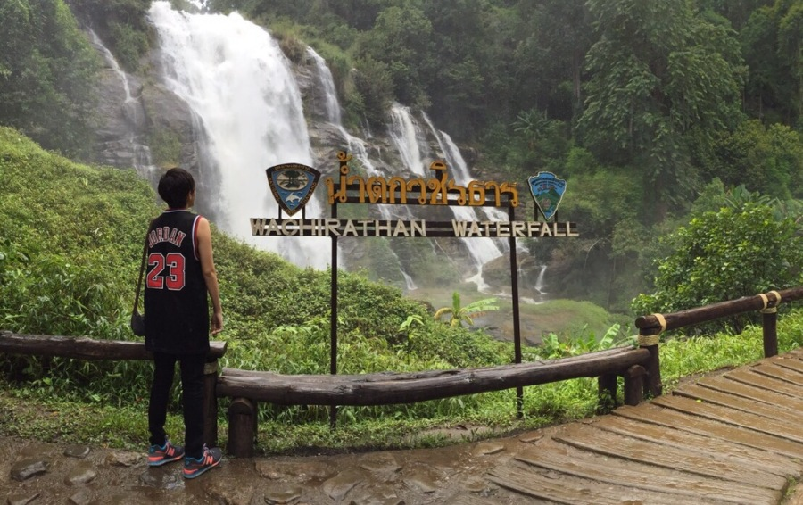 wachirathan waterfall doi ithanon