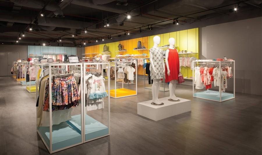 LOGO Fashion Mall Evolve Concept Mall