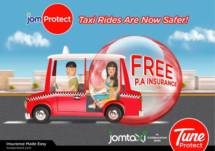 JomTaxi JomProtect Taxi Ride Uber Grabcar