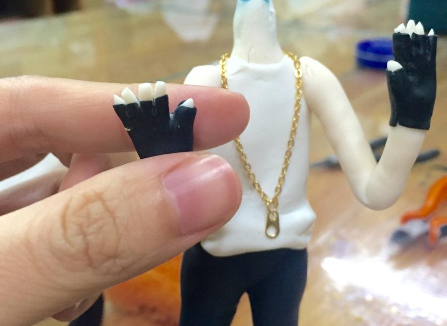 Yenji Clay Craft Art Craft G Dragon Doll BIGBANG