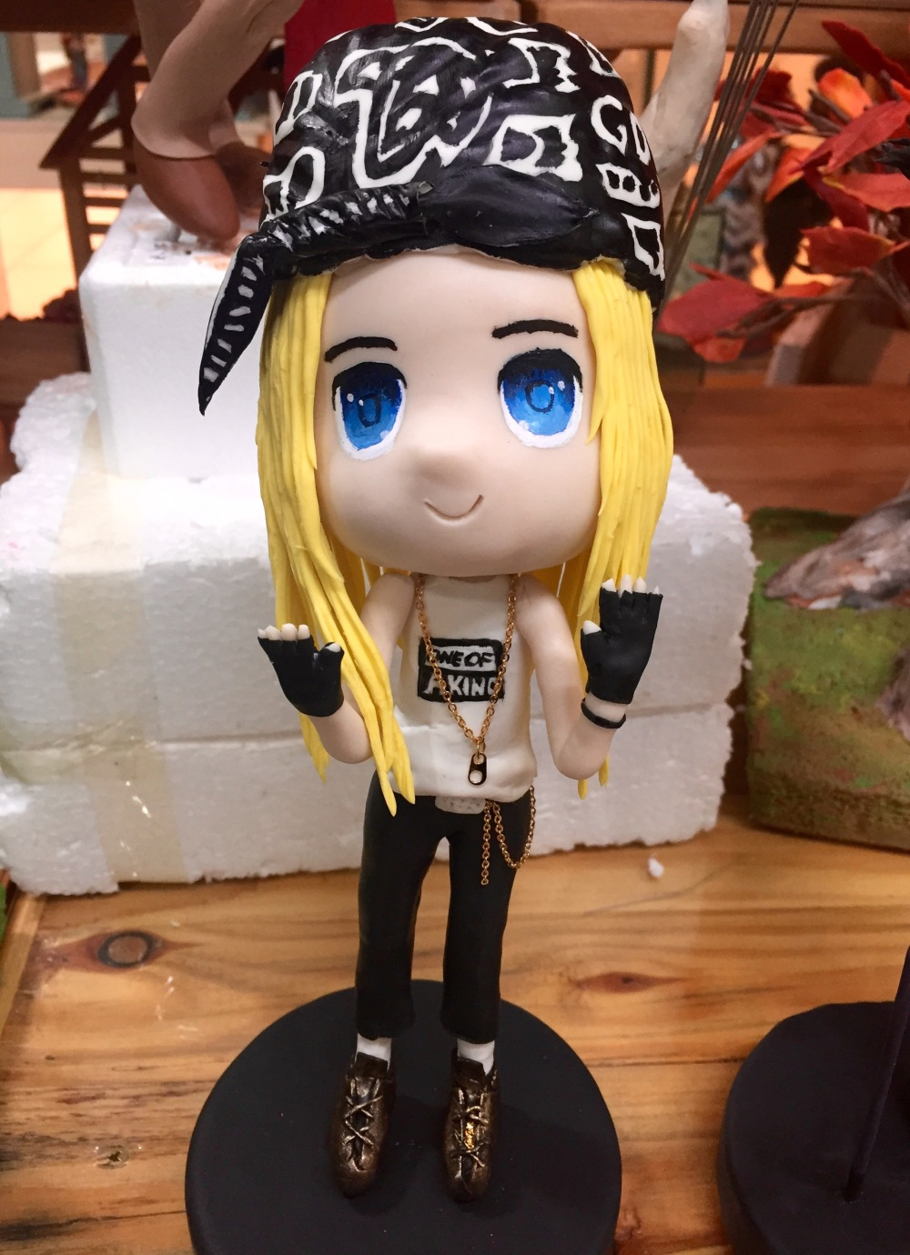 Yenji Clay Craft Art Craft G Dragon Doll BIGBANG