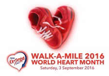 Walk-a-Mile for a healthier heart to live a greater life with Nestle Omega Plus!