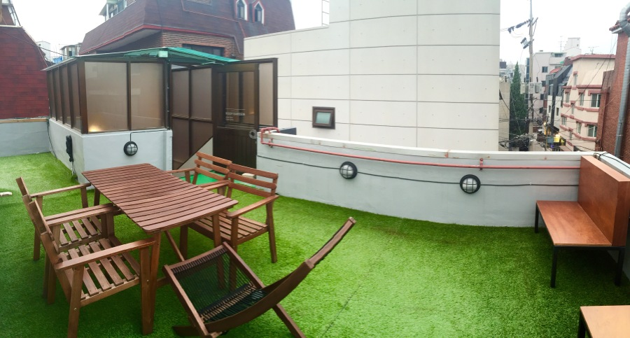 hotel baroato seoul hongdae south korea guesthouse
