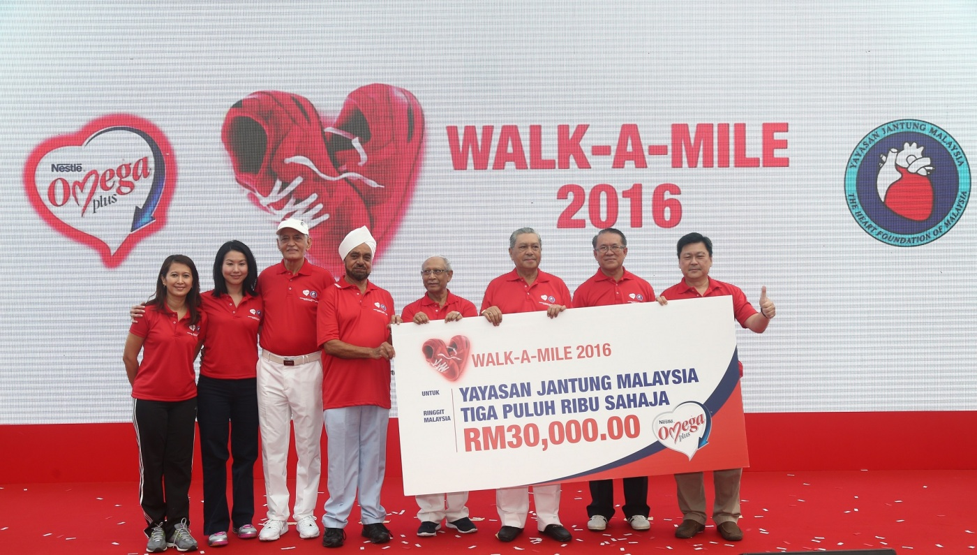 nestle omega plus walk a mile
