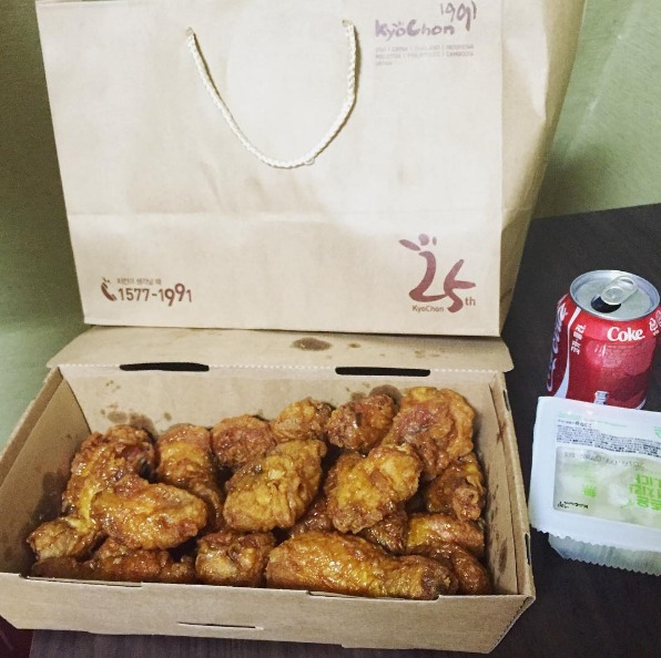 funko food delivery seoul Kyochon chicken