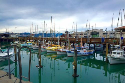 San Francisco USA North America Golden Gate Bridge Fisherman Wharf