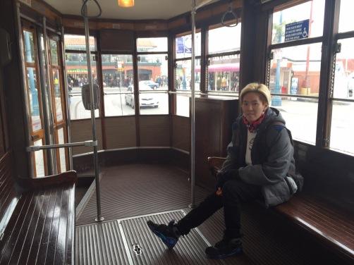 San francisco Tram Bus