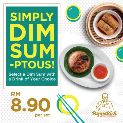 Papparich Malaysian Delights Malaysian Foods Dim Sum Promotion
