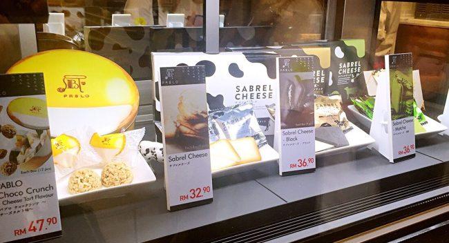 Pablo Cheese tarts malaysia one utama desserts cheese lover
