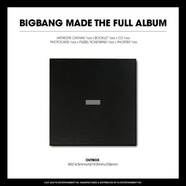 BIGBANG MADE FULL ALBUM MALAYSIA