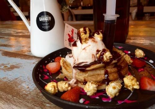 garage 51 loves nutella new menu pancakes