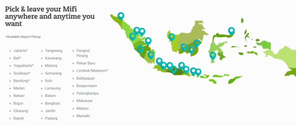 javamifi indonesia travel wifi data internet DWP16
