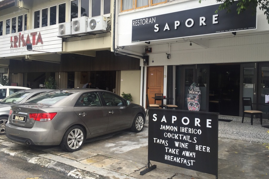 sapore persiaran ampang cafe italian spain food fine wine