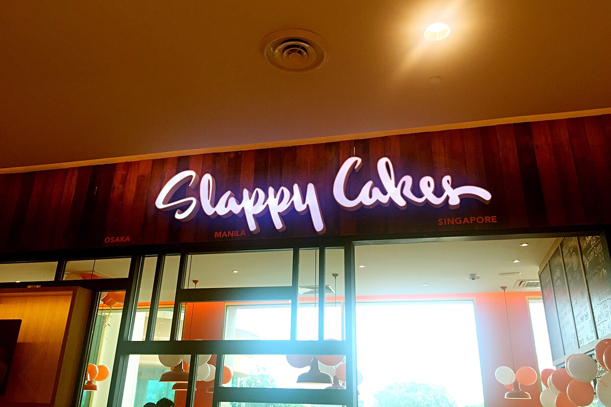 slappy cakes sunway pyramid malaysia pancake breakfast