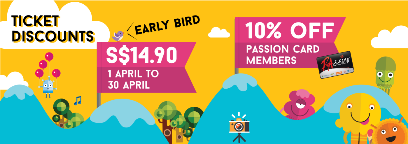Superfundae Early Bird Discount Ticket Singapore Kids Party
