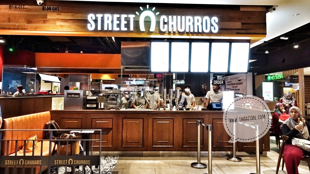 Street Churros Malaysia South Korea Cafe Mytown Shopping Center
