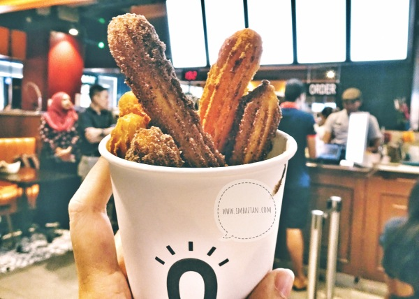 Street Churros Malaysia South Korea Cafe Mytown Shopping Center