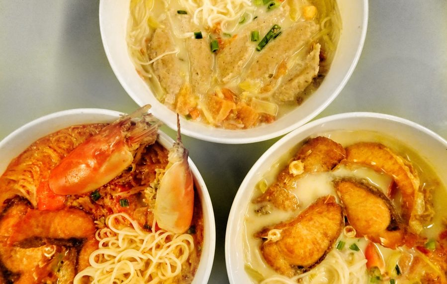 Home Made Fish Head Noodle Review @ Kota Damansara (美味園魚頭米)