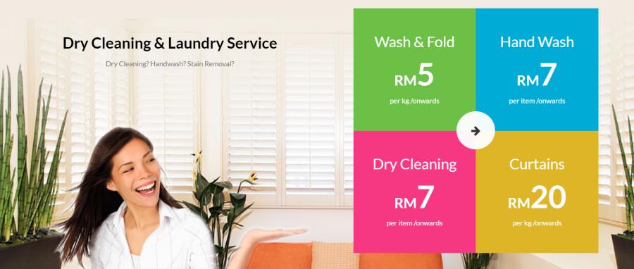 Mama Wosh Laundry Service Kuala Lumpur