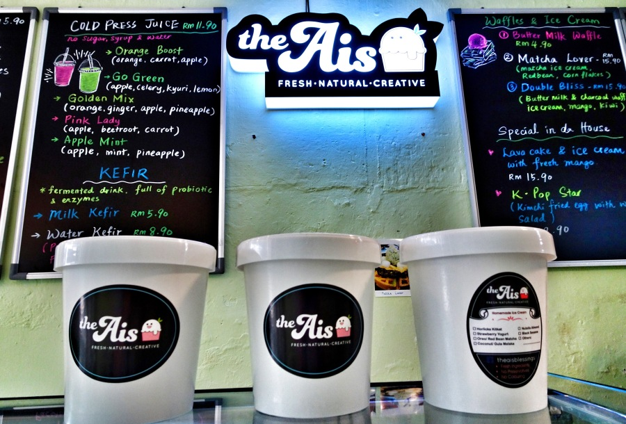 The Ais Natural Homemade Ice Cream