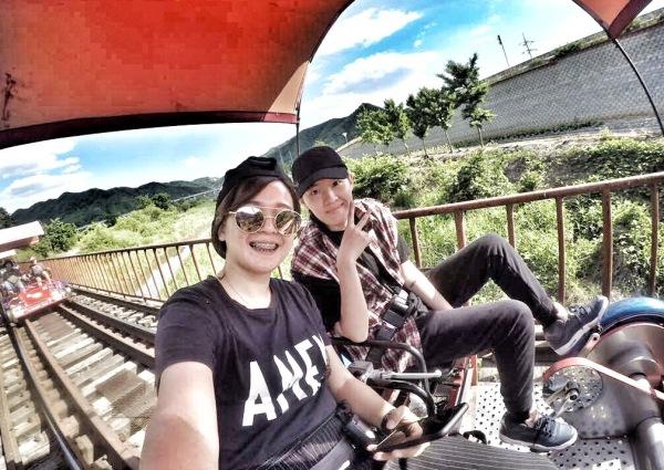 funtastic korea nami island gangchon railbike tour package