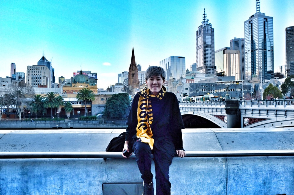 One day in Melbourne City