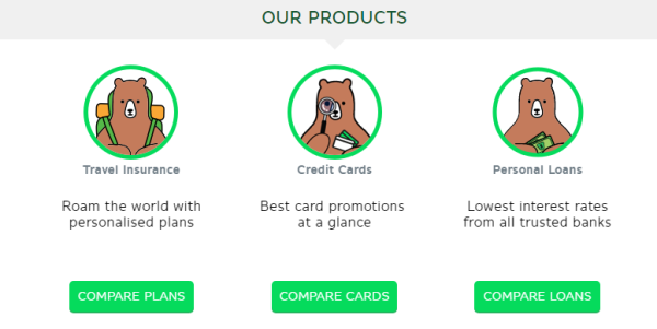 GoBear Best Credit Cards Personal Loan
