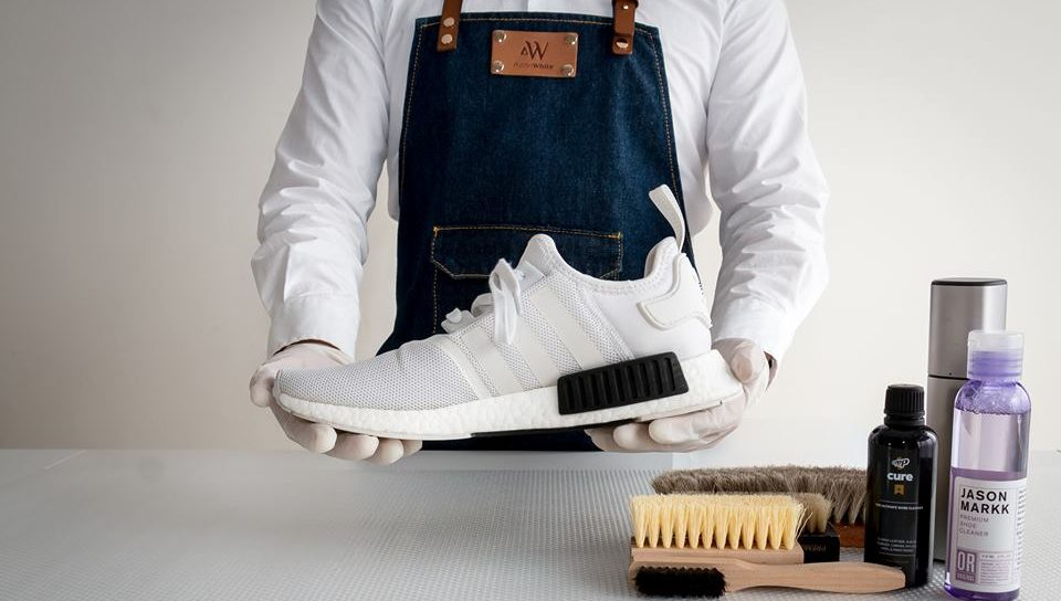 Aston White Premium Shoe Care Shoe Cleaning Service