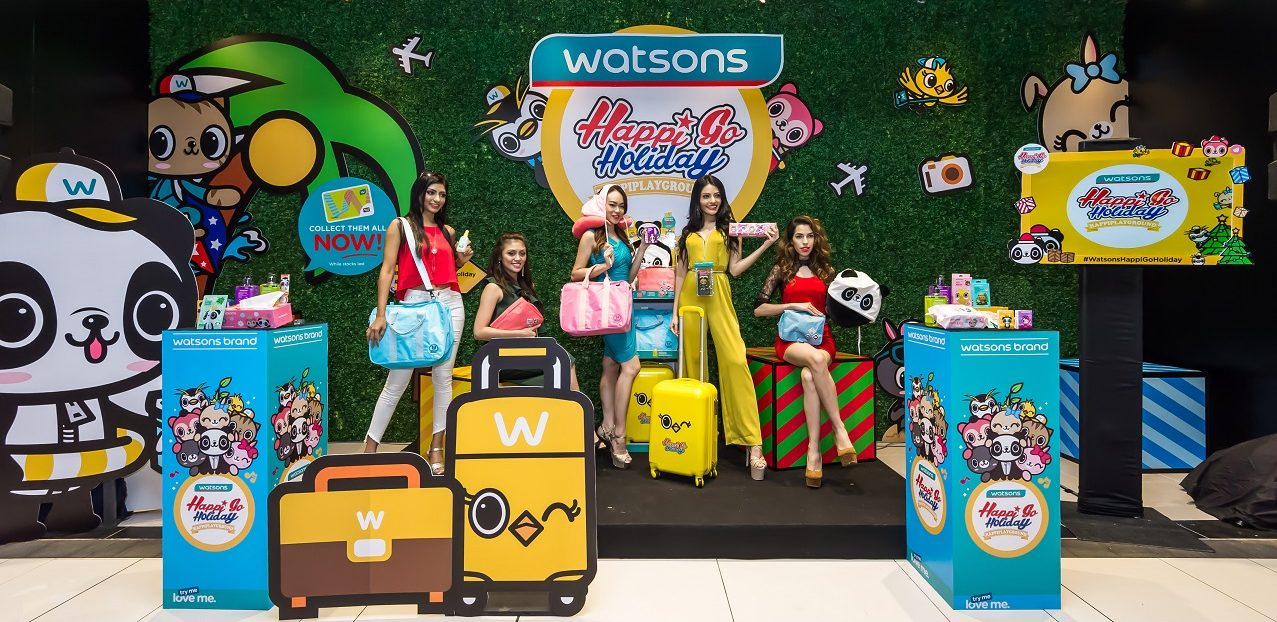Shop & Redeem Exclusive HappiPlayGround Products in WATSONS
