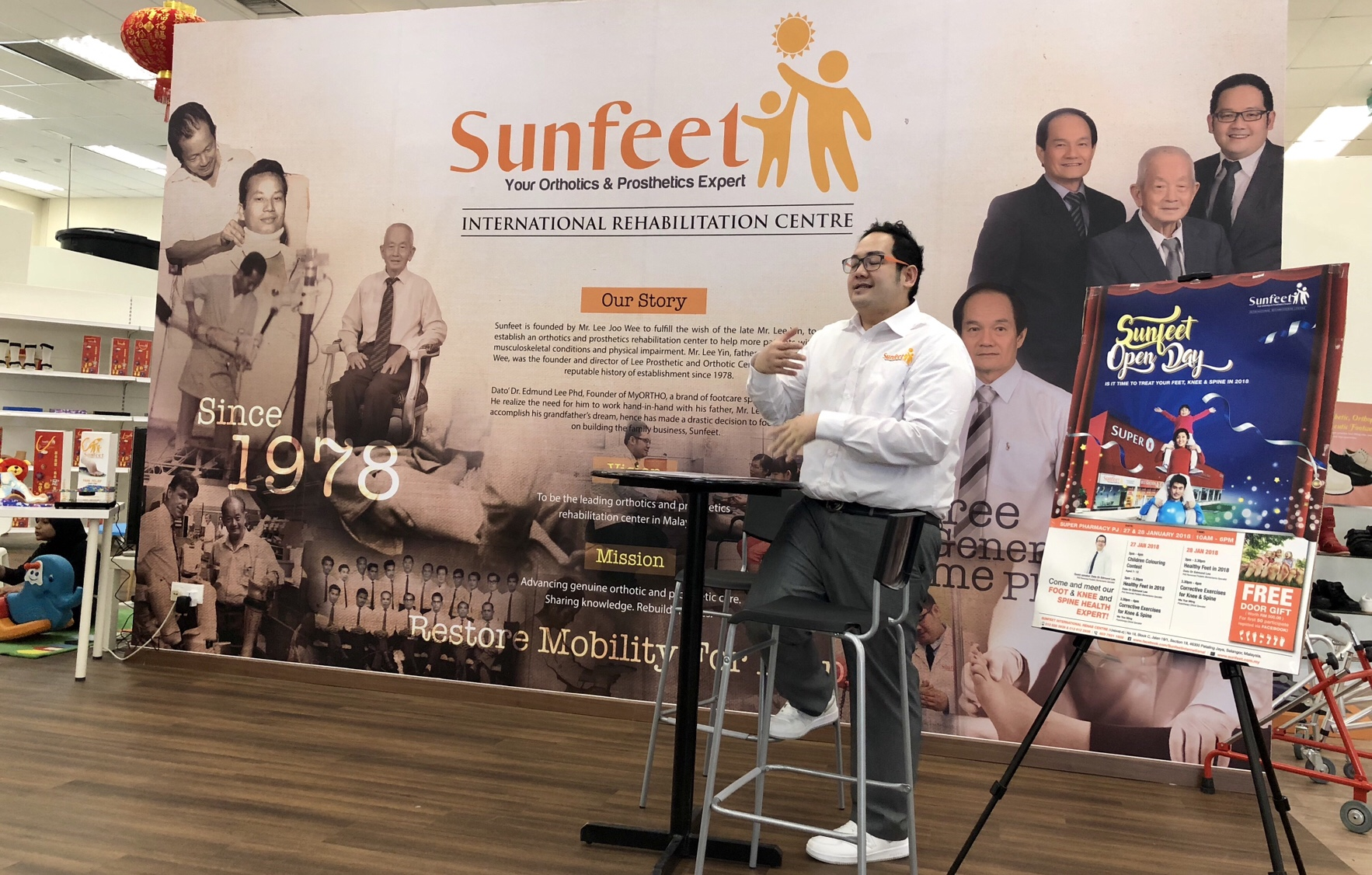 Sunfeet Open Day, get Free Orthotic Check up @ Sunfeet, Super Pharmacy