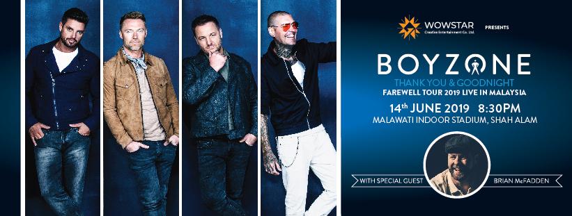 BOYZONE Concert Malaysia 2019